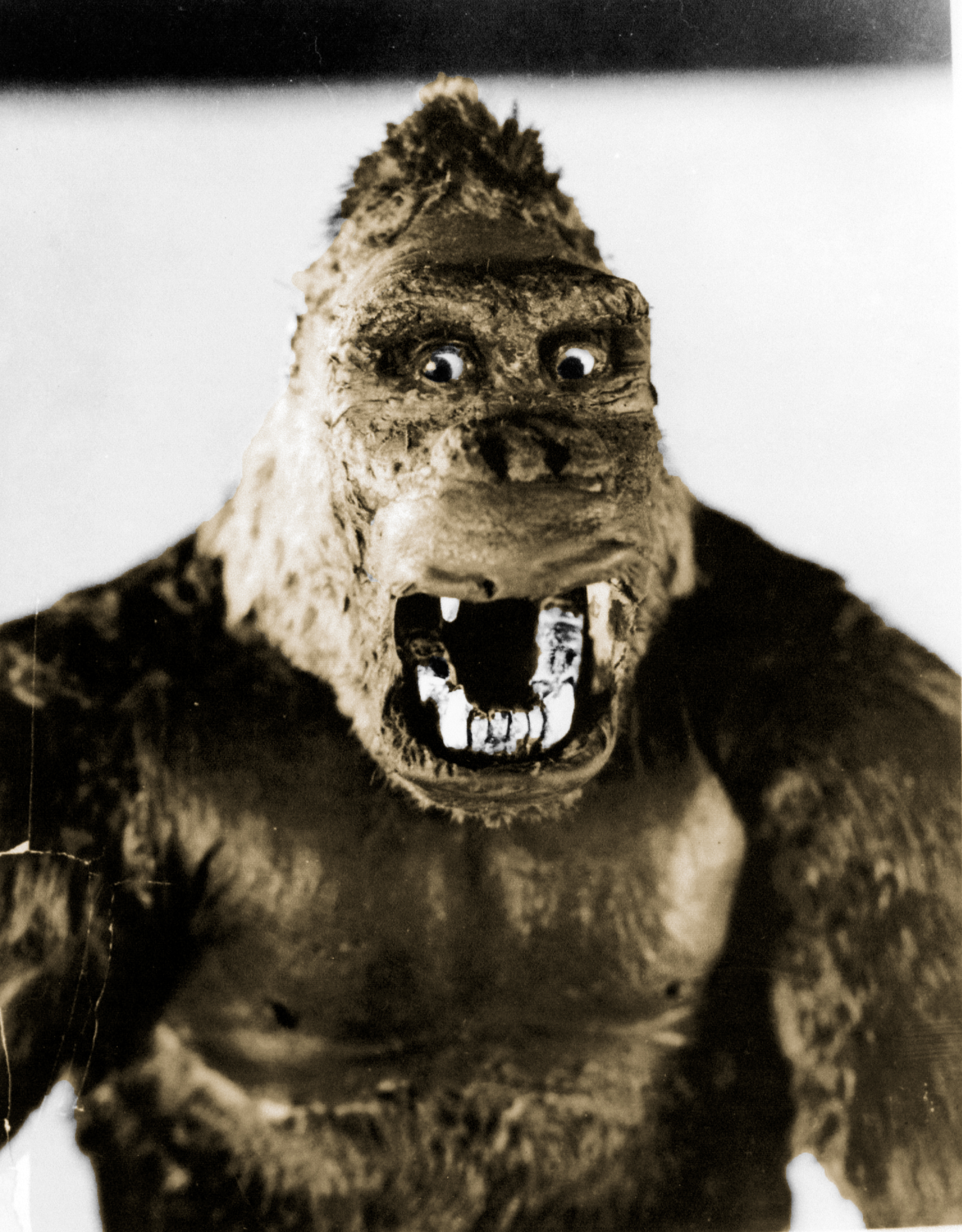 king kong A film crew goes to a tropical island for an exotic location shoot and discovers a colossal ape who takes a shine to their female blonde star.