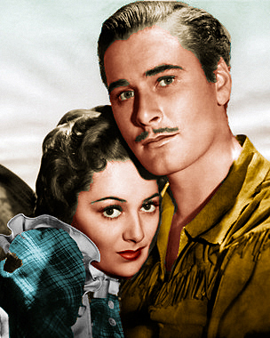 Errol Flynn & Olivia de Havilland in GREEN LIGHT - Live! (1/6)
