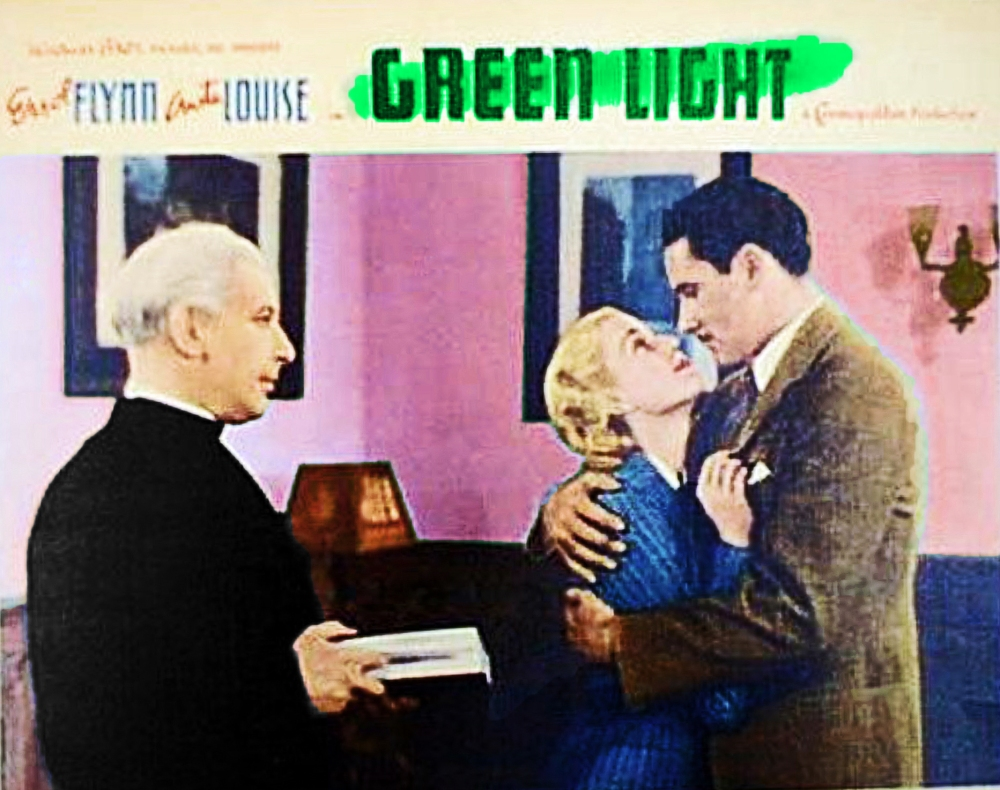 Errol Flynn & Olivia de Havilland in GREEN LIGHT - Live! (5/6)