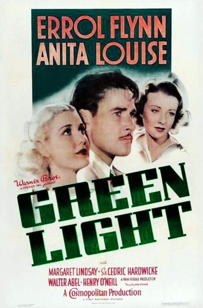 Errol Flynn & Olivia de Havilland in GREEN LIGHT - Live! (3/6)