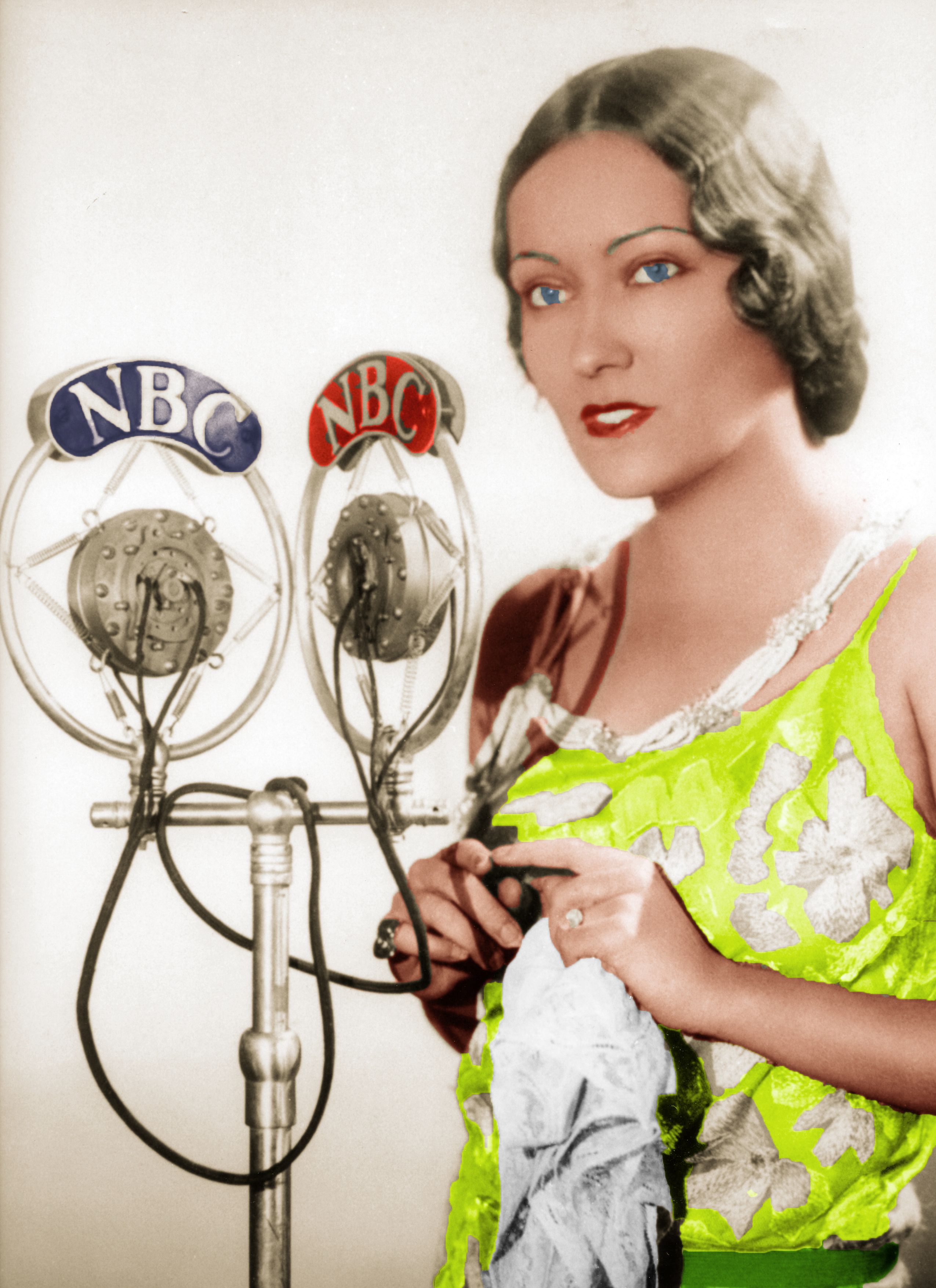 Silent Screen Stars on Radio OLD HOLLYWOOD IN COLOR - 1950 Hairstyles