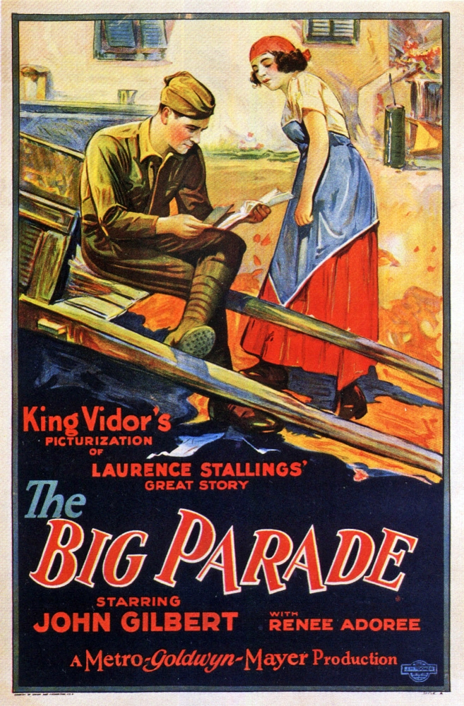 THE BIG PARADE (1925)  - New on Blu-ray (1/6)