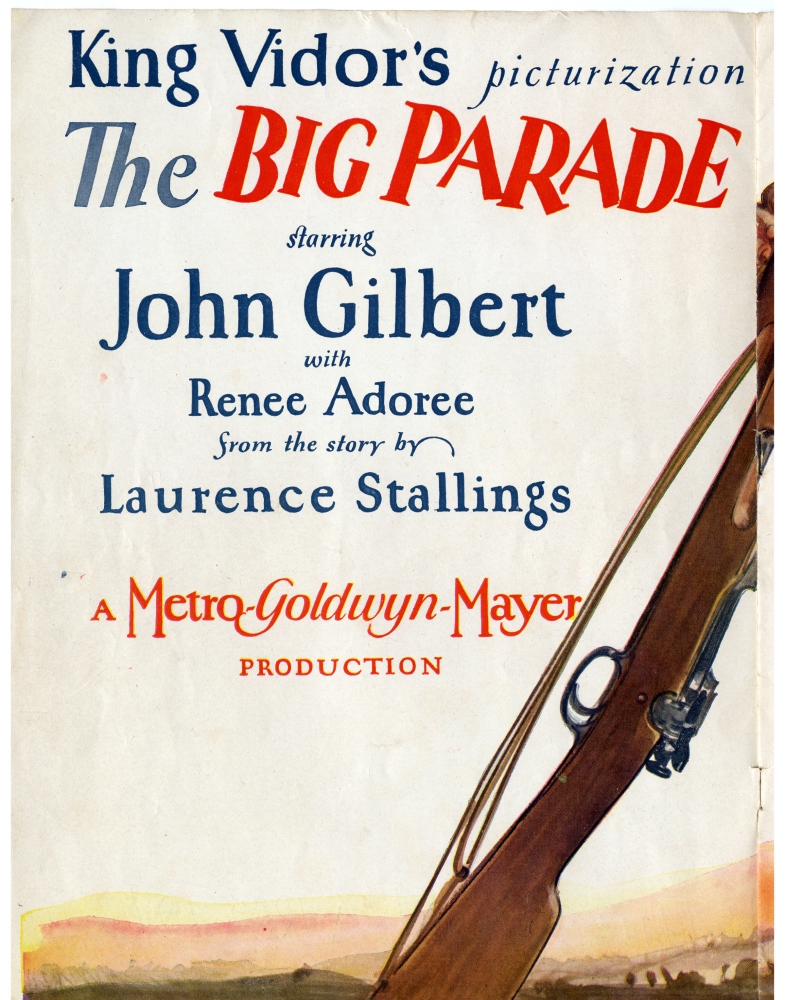 THE BIG PARADE (1925)  - New on Blu-ray (3/6)