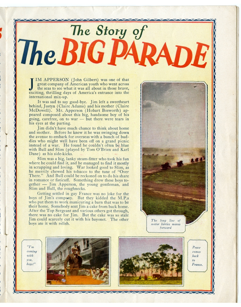 THE BIG PARADE (1925)  - New on Blu-ray (6/6)