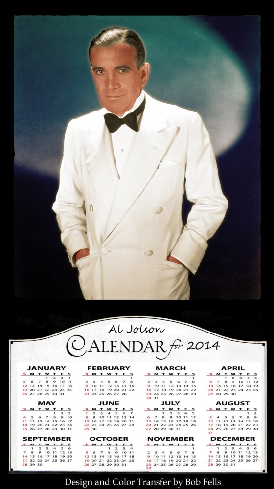 Your Official 2014 Old Hollywood in Color Calendar Collection! (6/6)