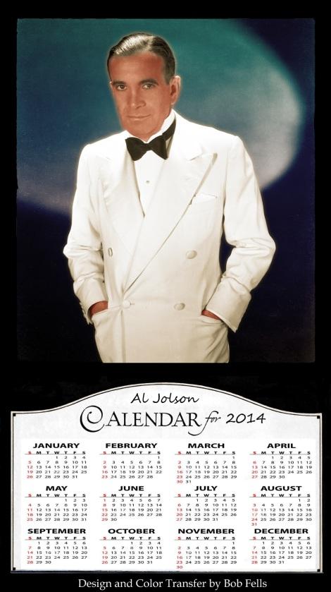 Al jolson calendar