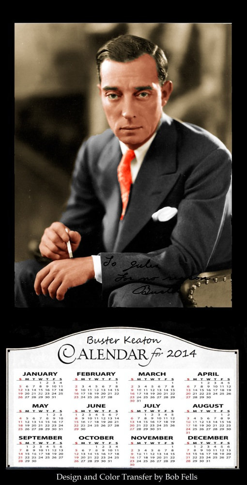 Your Official 2014 Old Hollywood in Color Calendar Collection! (4/6)