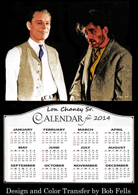Lon Chaney Calendar