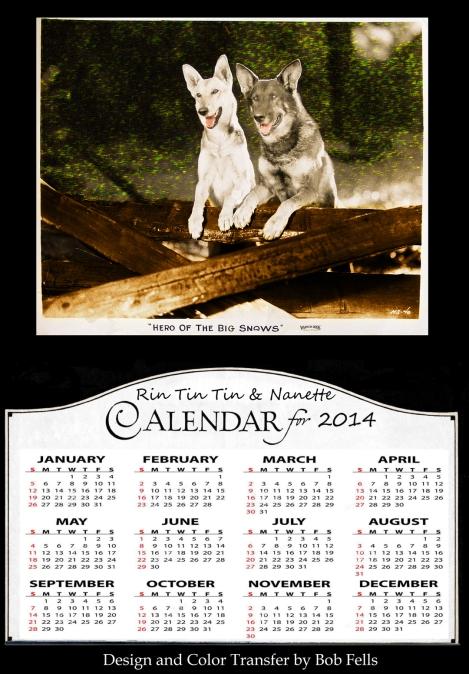 Rin Tin Tin Calendar
