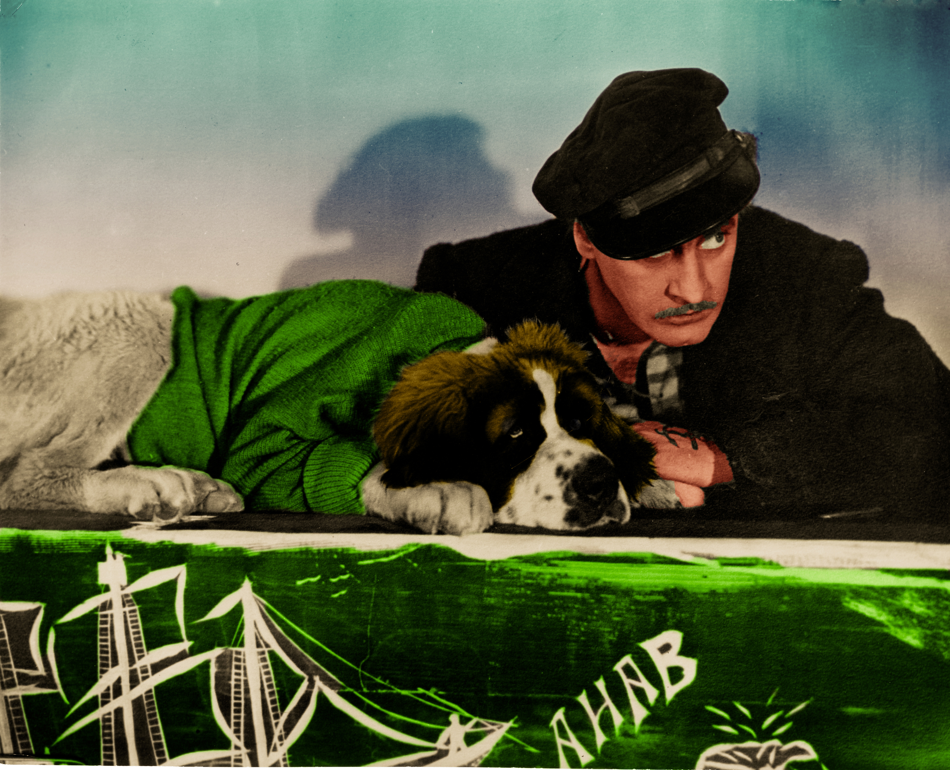 Moby Dick 1930 Barrymore and Dog_Final_Final