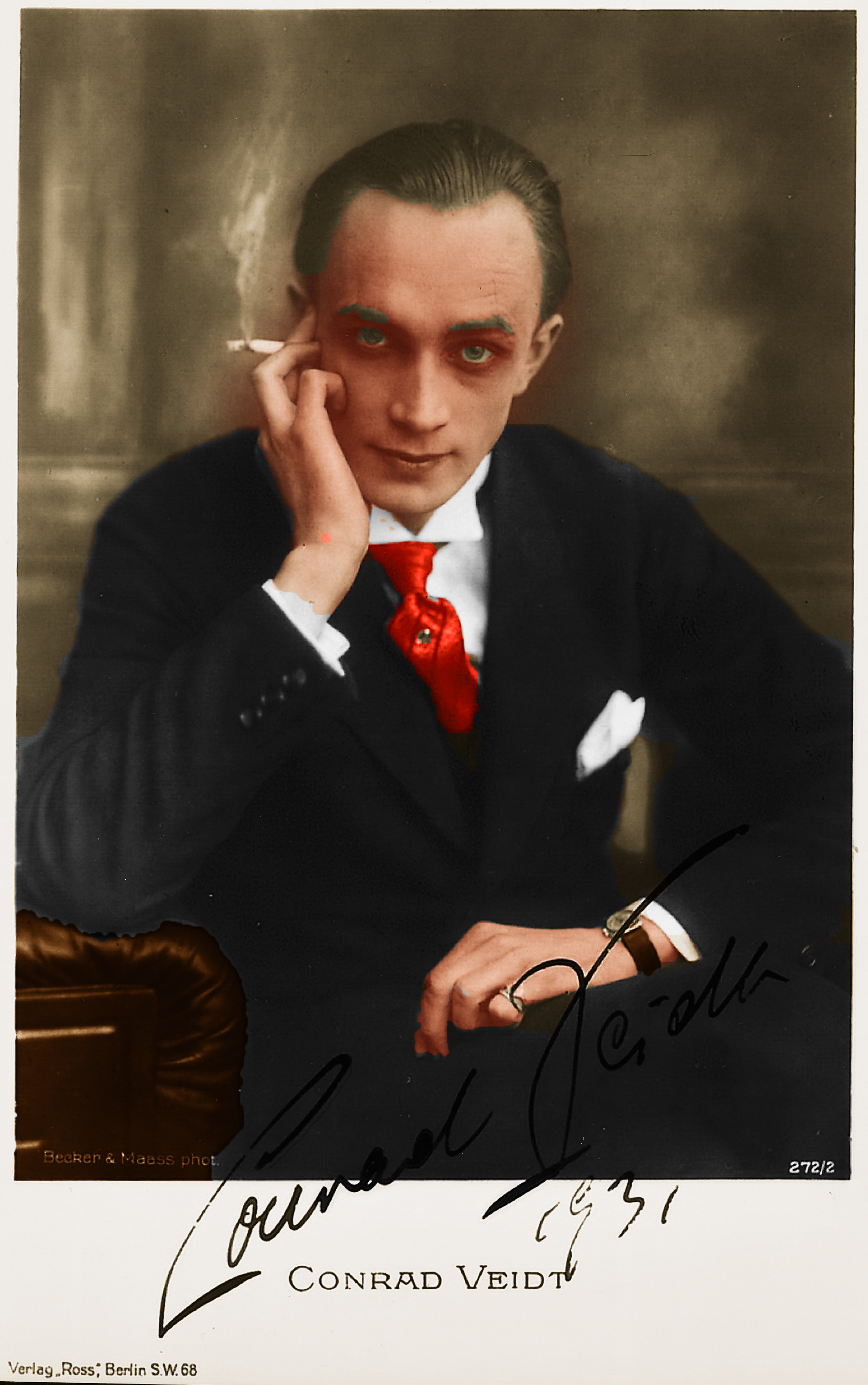 Conrad Veidt different from the others