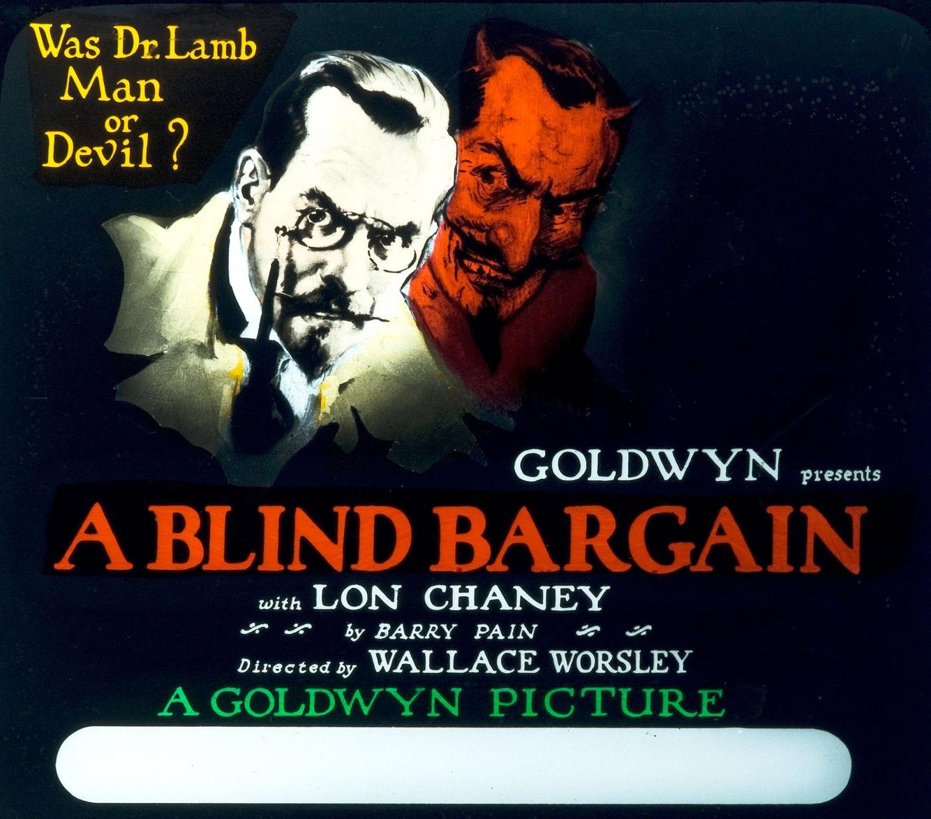 Chaney A Blind Bargain