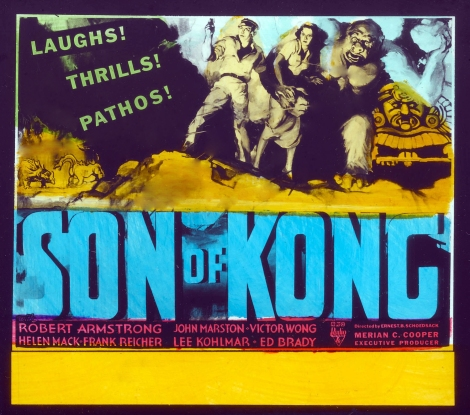 Son of Kong Glass Slide