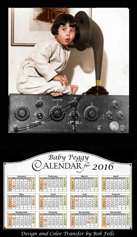 2016 Baby Peggy Calendar Final