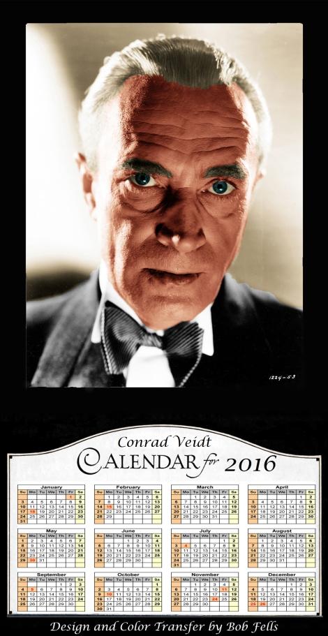2016 Conrad Veidt Calendar Final
