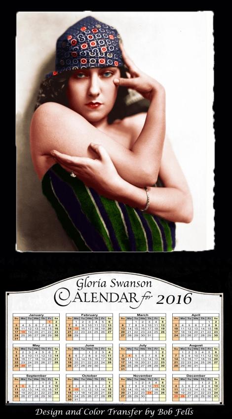 2016 Gloria Swanson Calendar Final