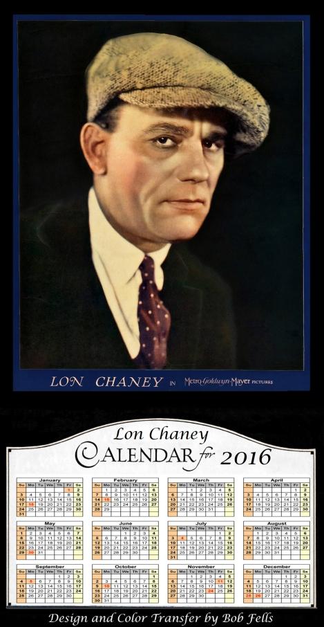 2016 Lon Chaney Calendar Final